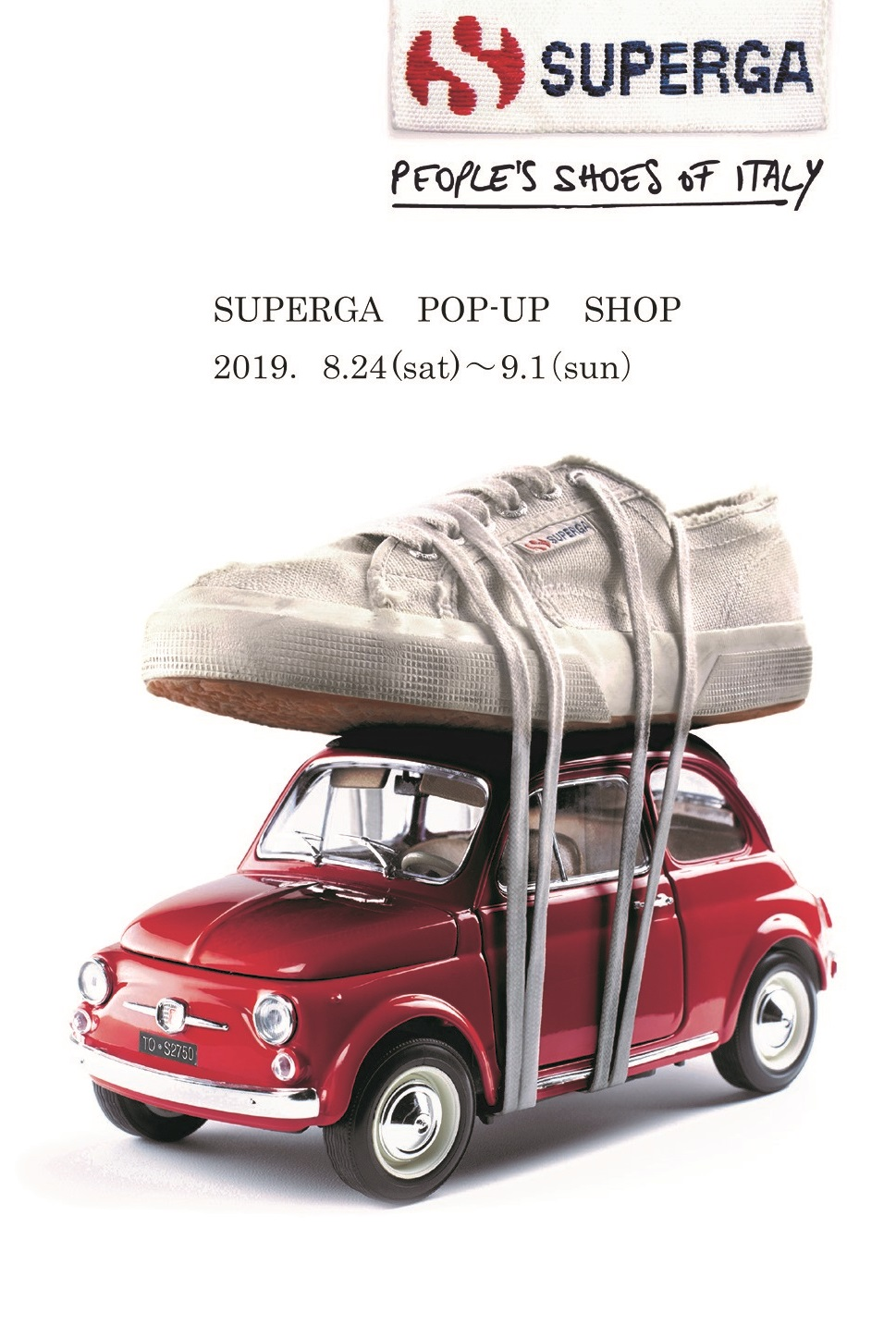 SUPERGA POP-UP SHOP