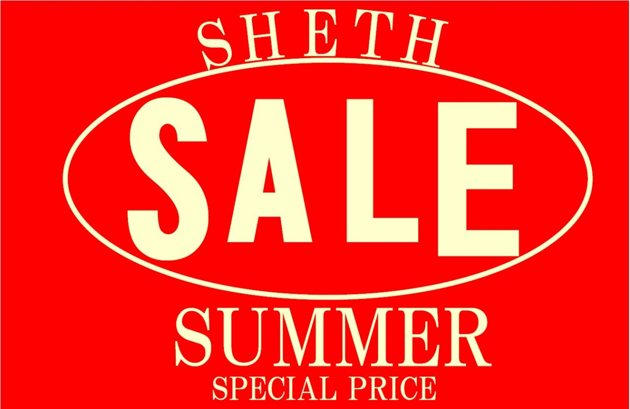 SHETH  SUMMER  SALE